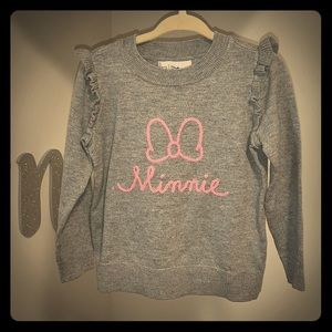 Toddler Minnie Mouse sweater